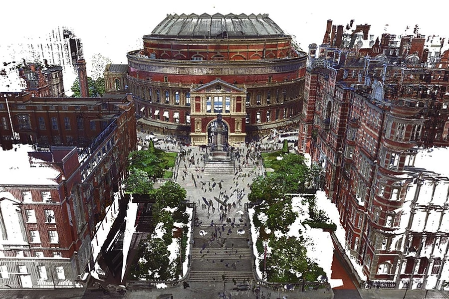 Albert Hall Reality capture image