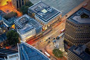 Drone measurement tools London junction