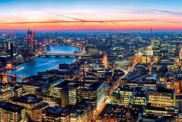 drone measurement survey, london