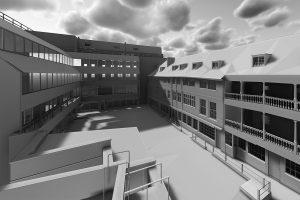 3d building render BIM