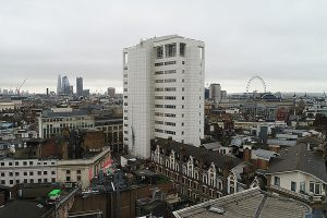 UAV drone survey central London