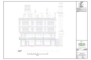 measured building survey drawing
