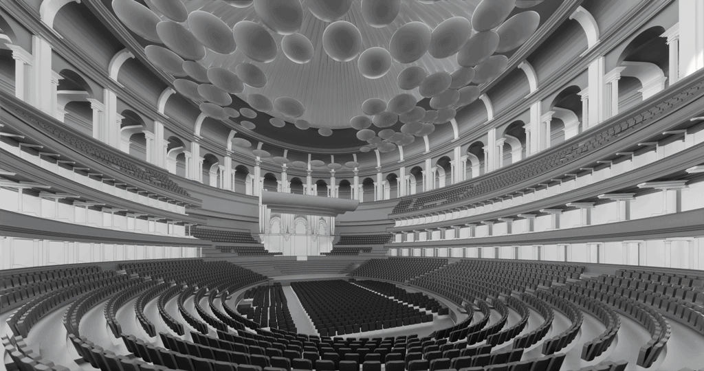 Imaging of the Royal Albert Hall