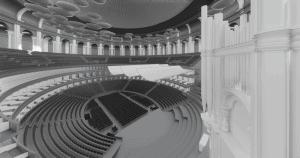 Imaging of Royal Albert Hall
