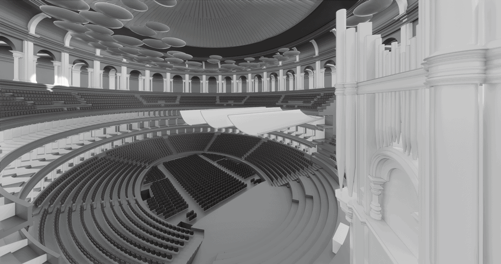 Imaging of Royal Albert Hall