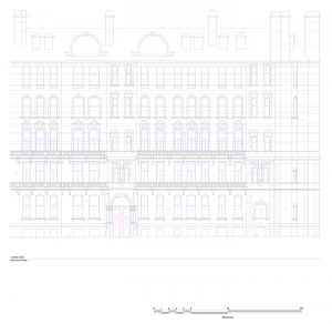 Royal Albert Hall design drawing